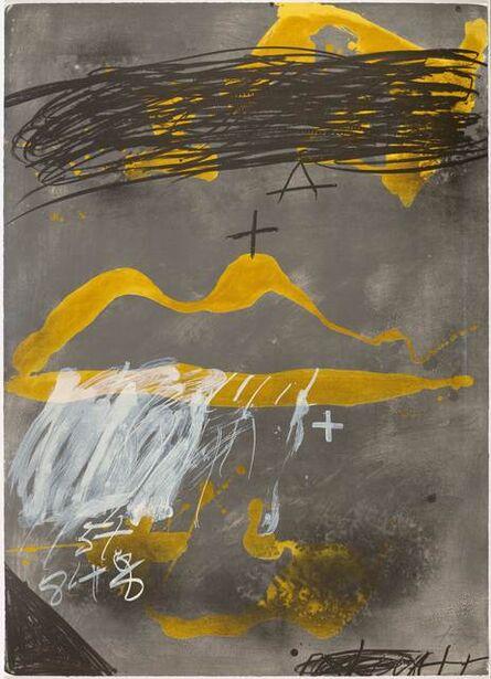 Antoni Tàpies, 'Bouche', 1987