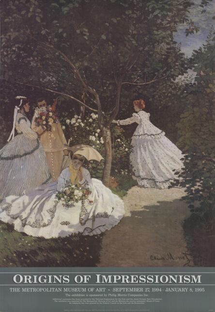 Claude Monet, 'Women in the Garden', 1994