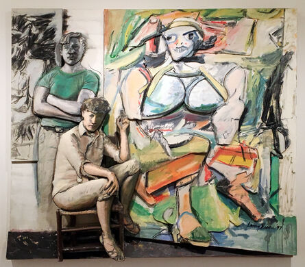 Larry Rivers, 'Bill and Elaine de Kooning and 'Woman I'', 1997