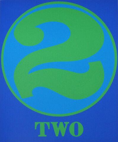 Robert Indiana, 'Two', 1997