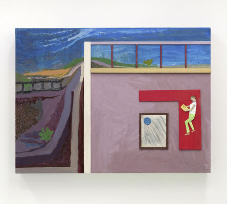 Chris Johanson, 'How To Be Selfish And Not Hurt Others (Los Angeles Landscape Painting no.2)', 2014