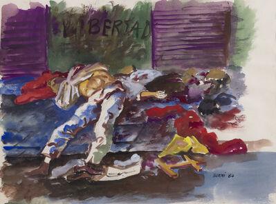 """Antonio Berni, 'Libertad. De la serie """"Dictaduras del Cono Sur, Terrorismo de Estado en Argentina""""', 1980"""