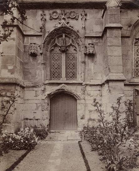 Eugène Atget, 'Sarcelles, [Eglise] Saint-Brice : [porte et fenêtre], (Seine et Oise)', 1900c / 1900c