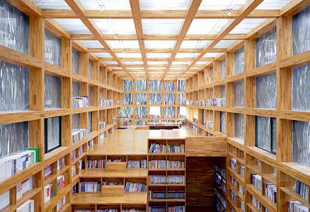 Candida Höfer, 'Li Yuan Library III', 2014