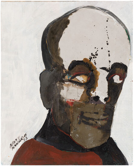 Benny Andrews, 'Afro-American', 1972