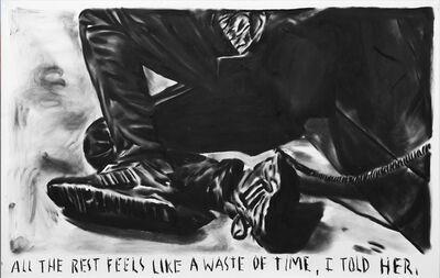 Rinus Van de Velde, 'All the rest feels like a waste of time', 2015