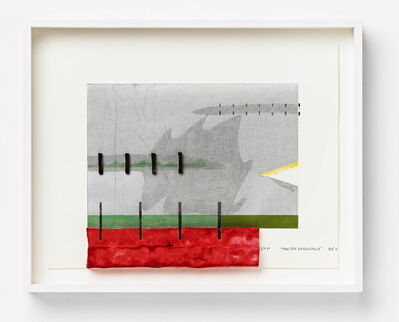 """Richard Tuttle, '""""Pacific Seriously""""', 2012"""