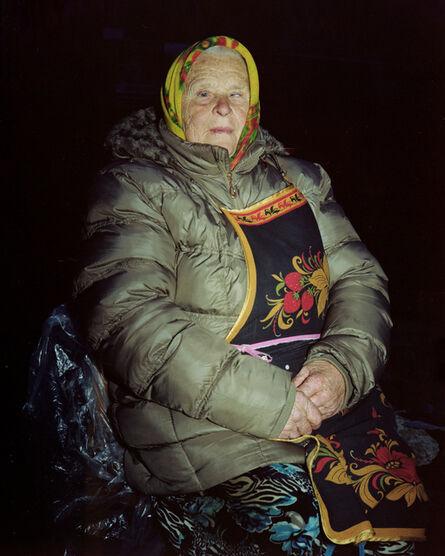 Lia Darjes, 'Bildnis einer Marktverkäuferin III, Kaliningrad', 2016