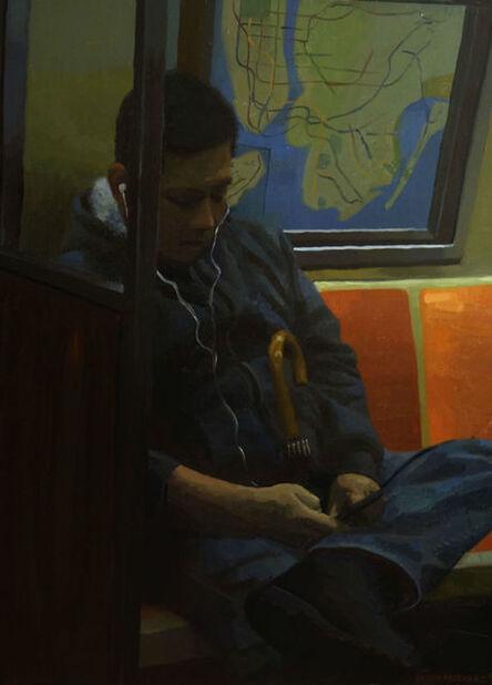 Devon Rodriguez, 'Man with Umbrella', ca. 2015