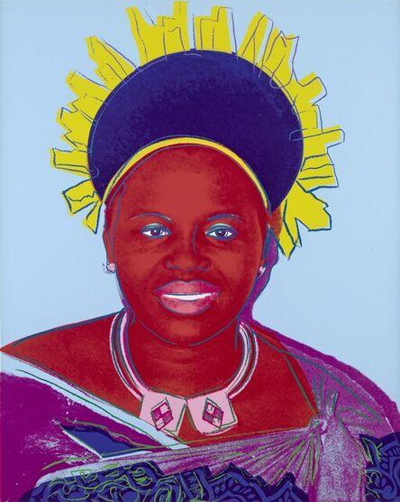 Andy Warhol, 'Queen Ntombi Twala of Swaziland, from Reigning Queens (Feldman & Schellmann IIB)', 1985