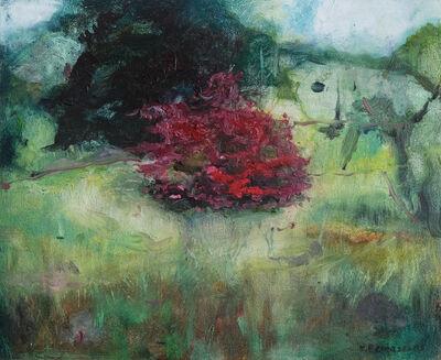 Katrine Claassens, 'Azalea Bush by the Old Zoo', 2020