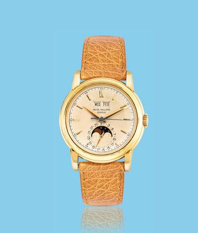 Patek Philippe, 'Yellow gold wristwatch, ref. 2438', ca. 1950