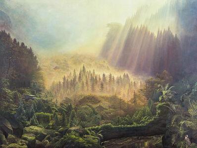 LIU De-Lang, 'Green Valley Welcomes Spring', 2017