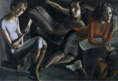 Ángeles Santos, 'Tertulia (The Gathering)', 1929