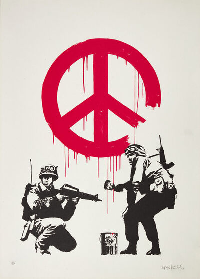 Banksy, 'CND Soldiers - Signed', 2005