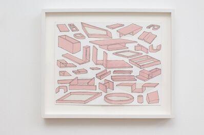 Fawn Krieger, 'Architectural Organ Study (1, 2, & 3)', 2010