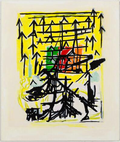 EJ Hauser, 'arrow painting', 2014