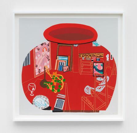 Jonas Wood, 'Matisse Pot 3', 2018