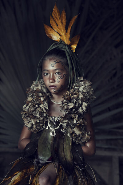 Jimmy Nelson, 'XXVI 5 Te Pua O Feani, Atuona, Hiva Oa, Marquesas Islands, French Polynesia', 2016
