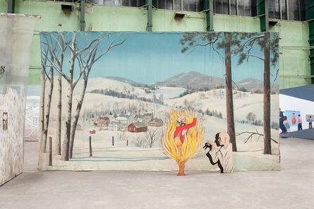 Jim Shaw, 'The Burning Bush', 2013