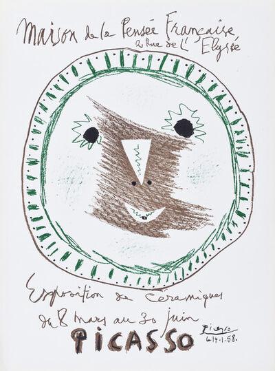 Pablo Picasso, 'Affiche Exposition de Ceramiques (Mourlot IV.314)', 1958