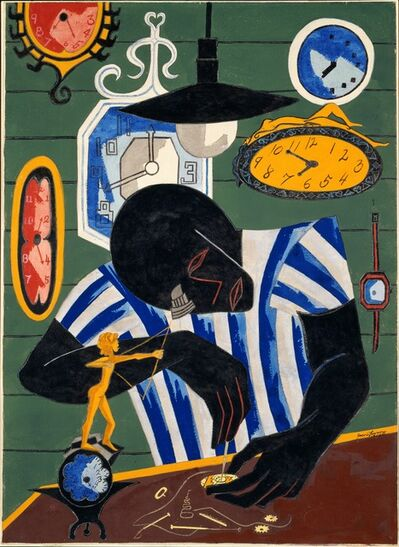 Jacob Lawrence, 'Watchmaker', 1946