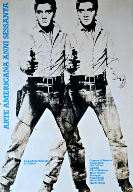 Andy Warhol, 'Arte Americana Anni Sessanta (Double Elvis)', 1987