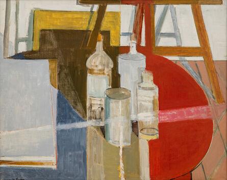 Marguerite Louppe, 'Bouteilles et Flacons', ca. 1960