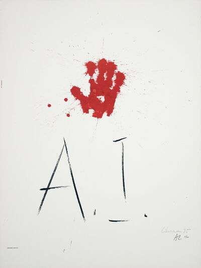 Alexander Liberman, 'Amnesty International', 1976