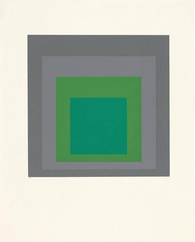 Josef Albers, 'Hommage au Carré', 1965