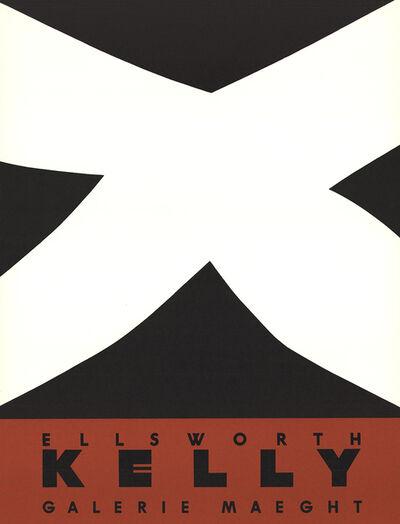 Ellsworth Kelly, 'Noir Et Rouge', 1958