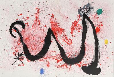 Joan Miró, 'Danse de Feu from Derrière le Miroir ', 1963