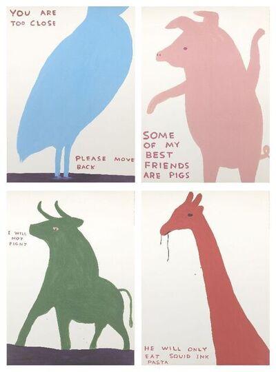 David Shrigley, 'Animals Series', 2020