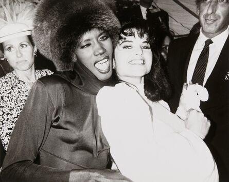 Andy Warhol, 'Andy Warhol, Photograph of Grace Jones & Maria Shriver Schwarzenegger, 1986', 1986