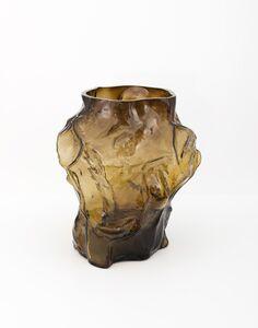 FOS, 'Mountain Vase - Caramel', 2018