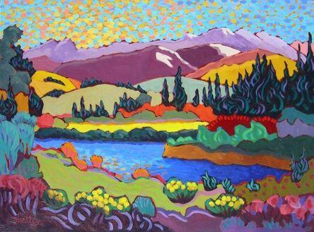 "Claudia Hartley, '""Western Mountain Stream""'"