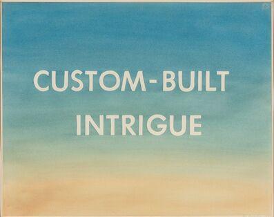 Ed Ruscha, 'Custom-Built Intrigue', 1981