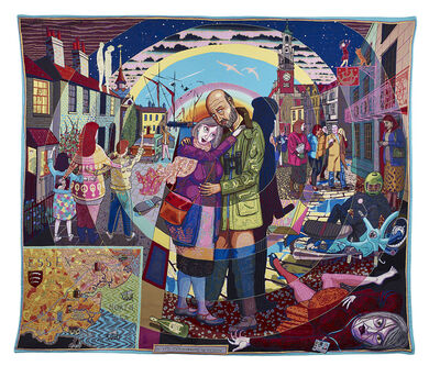Grayson Perry, 'In Its Familiarity, Golden', 2015