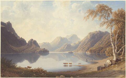 George Fennel Robson, 'A Loch in Scotland'