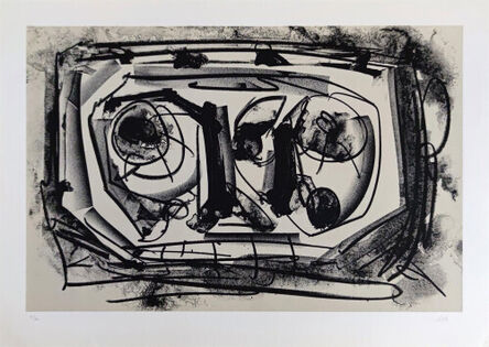 Antonio Saura, 'Kafka Diaries', 1988