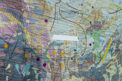 Julie Mehretu, 'Looking Back to a Bright New Future', 2003