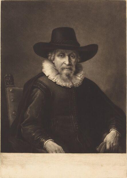 Richard Houston after Rembrandt van Rijn, 'The Burgomaster', ca. 1760