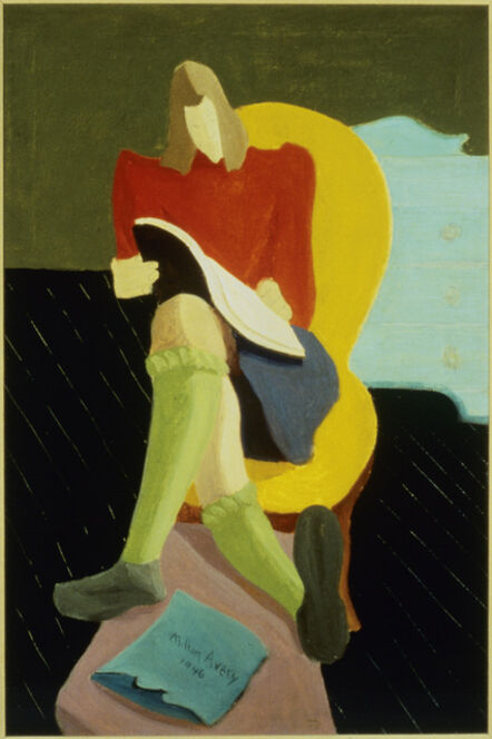 Milton Avery, 'Homework', 1946