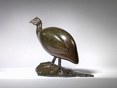 François Pompon, 'Guinea Fowl', ca. 1910