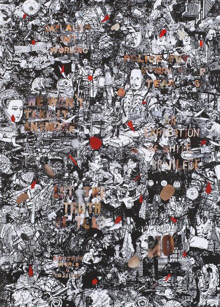 Julia Rosa Clark, 'Outrage in Flesh Tones on a Hegemonic Ground 1', 2016