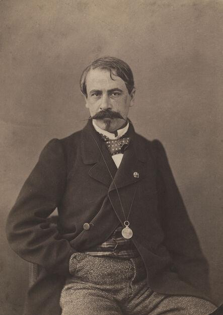 Nadar, 'Auguste Vitu, journaliste', 1860-1861