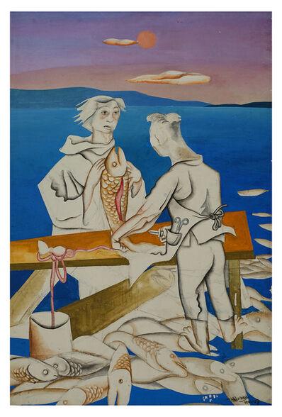 Wang Jinsong, 'Killing a Fish', 1988