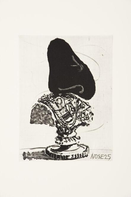 William Kentridge, 'Nose 25', 2009