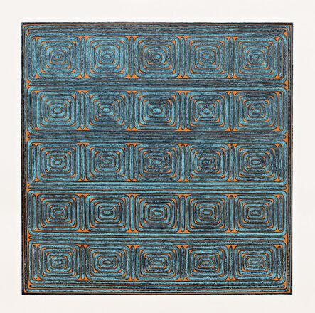 Dan Walsh, 'Antique Orange & Blue', 2008