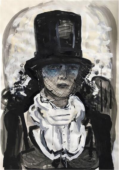 Suzy Spence, 'Widow V.5 (Blue Veil) ', 2017
